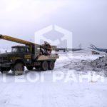 Бурение в аэропорту Екатеринбурга