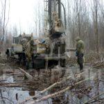 Бурение скважин в болоте